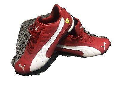 Puma SF Future Cat Low Ferrari Red Trainers Size 8 UK 42 EUR
