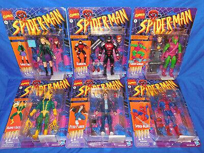 Spiderman Spider-man Retro Marvel Legends 6-Inch Action Figures Wave 1 Case of 6
