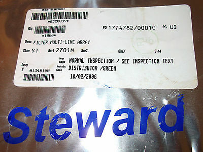 29f0818-1sr Steward Ferrite Filter Power Array Multiline 6a Sealed Reel 900 Pcs