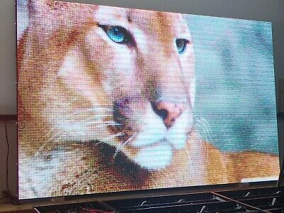High Quality Led Sign Full Color Real Pixel Outdoorindoor 10mm 50 X 100 -usa