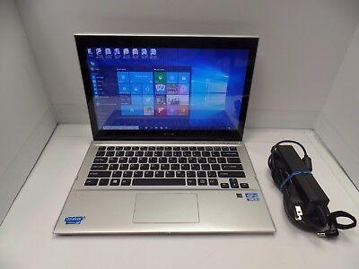 Sony Vaio Ultrabook SVT131B11L 1.80GHz i7-3537 8GB 250GB SSD Win10 NON-TOUCH