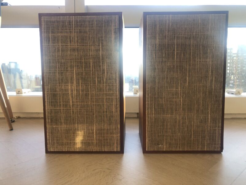 Vintage Pair of Dynaco A25XL Speakers RARE