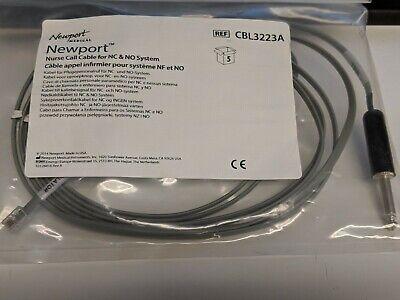 Newport Nurse Call Cable For Nc No System Cbl3223a