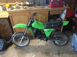 1982 Kawasaki kx80