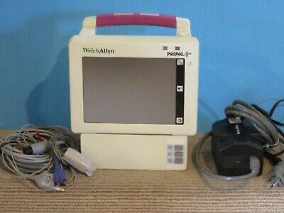 Welch Allyn Propaq 242 Vital Signs Patient Monitor W Printer - Pn 007-0116-01