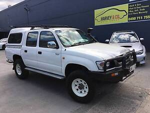 2004 TOYOTA HILUX 4x4 FACTORY TURBO DIESEL ! Granville Parramatta Area Preview