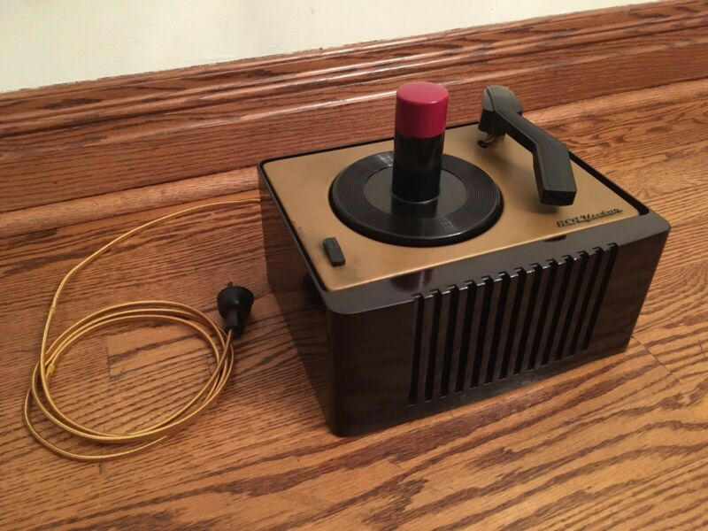 REFURBISHED! RCA VICTOR 45-EY-2 45 RPM RECORD PLAYER!