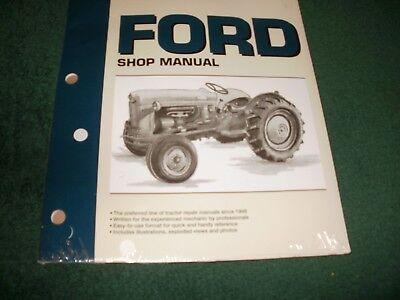 JUBILEE FORD TRACTOR SHOP MANUAL F0-19 MODEL NAA BRAND NEW