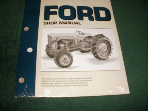 FORD TRACTOR SHOP MANUAL F0-19 MODEL NAA (JUBILEE) BRAND NEW