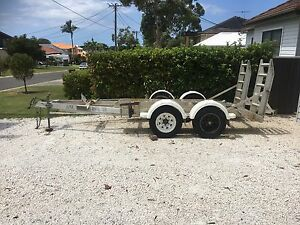 Plant excavator trailer Caringbah Sutherland Area Preview