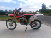 Honda crf 450x North Boambee Valley Coffs Harbour City Preview