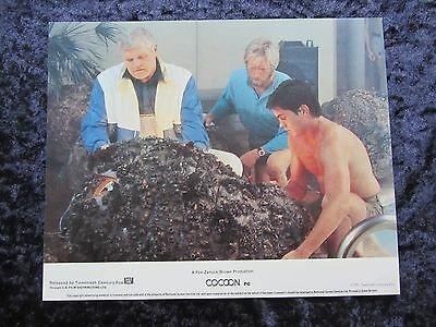 COCOON lobby card #1 TYRONE POWER Jr, BRIAN DENNEHY
