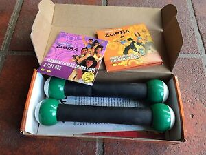 Zumba personal fitness pack in near new condition Narre Warren South Casey Area Preview