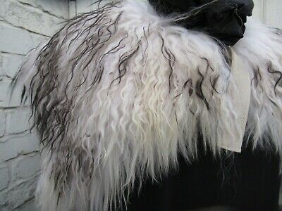 Reenactment capelet genuine fur collar Larp Norse Vikings - Viking Reenactment Kostüm