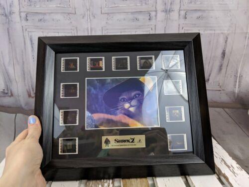 Disney Shrek 2 mini montage s6 39/1000 Rye post dreamworks slides film cel cat