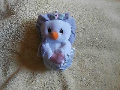 Precious Moments Tender Tails Plush Lady Snowman-2000-NWT