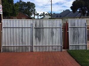 Metal gates Woodville West Charles Sturt Area Preview