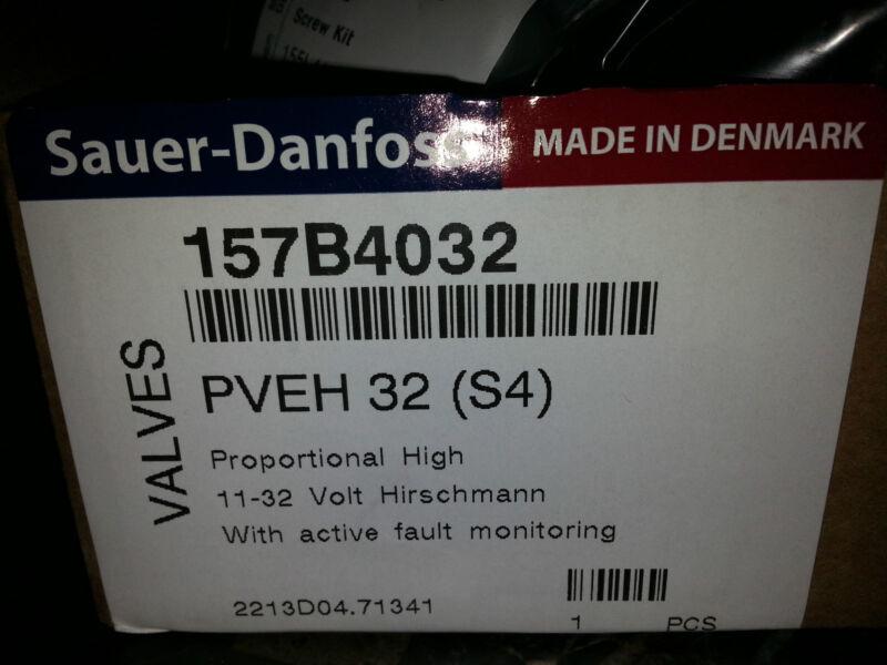 SAUER DANFOSS PVEH32 PROPORTIONAL VALVE SOLENOID COILS 157b4032