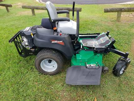 Ride-on mower & TRailer