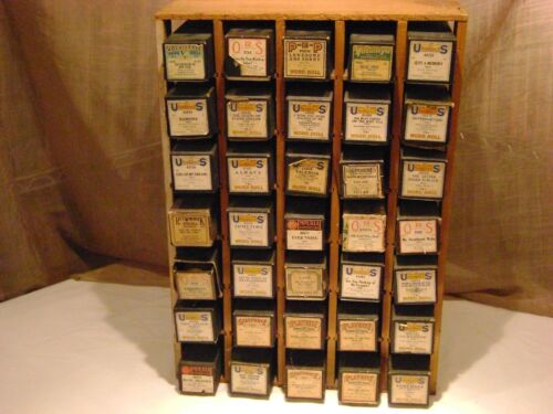 Vintage Player Piano Music Rolls Lot of 35