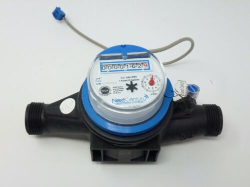 """3/4"""" NPT Cold Water Meter - Pulse Output Next Century M201C"""