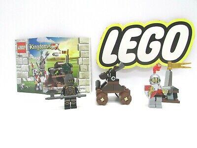 Lego 7950 Kingdoms Knight's Showdown 100% Complete w/ Instructions Vintage Set