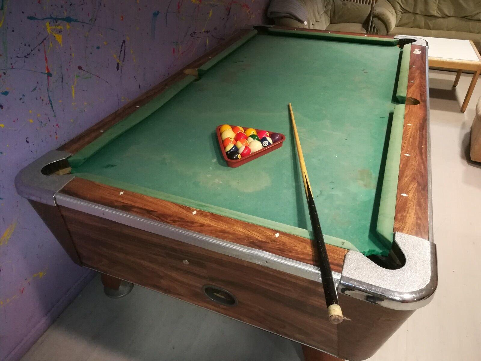 Billiardtisch gebraucht inkl. Zubehör