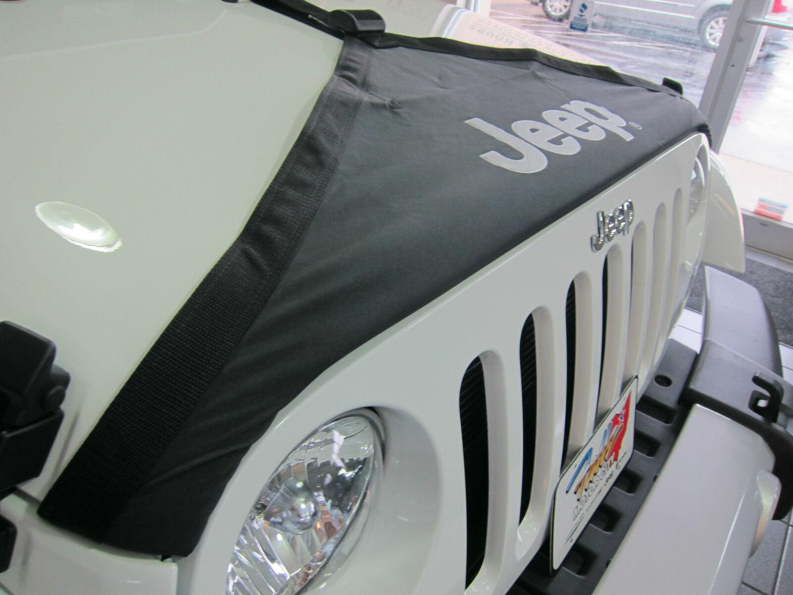 2007 2018 Jeep Wrangler Jk Hood Cover Front End Bra Protector Kit Suspension Diagram Mopar Oem