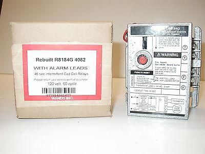 Honeywell R8184g 4082 1237 Oil Burner Primary Control Alarm Capable