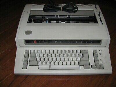 Ibm 6781 Wheelwriter Electronic Typewriter Exc. Cosmetic Operating Condition
