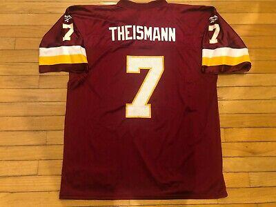 Reebok Throwbacks Joe Theismann #7 Washington Redskins Jersey Mens Adult XL -