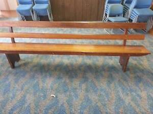 Wooden Church Pews Banyo Brisbane North East Preview