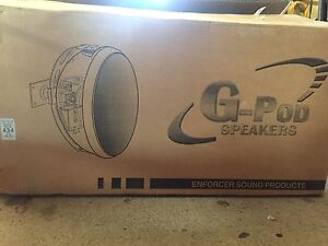 A pair of G-POD Speakers - BRAND NEW