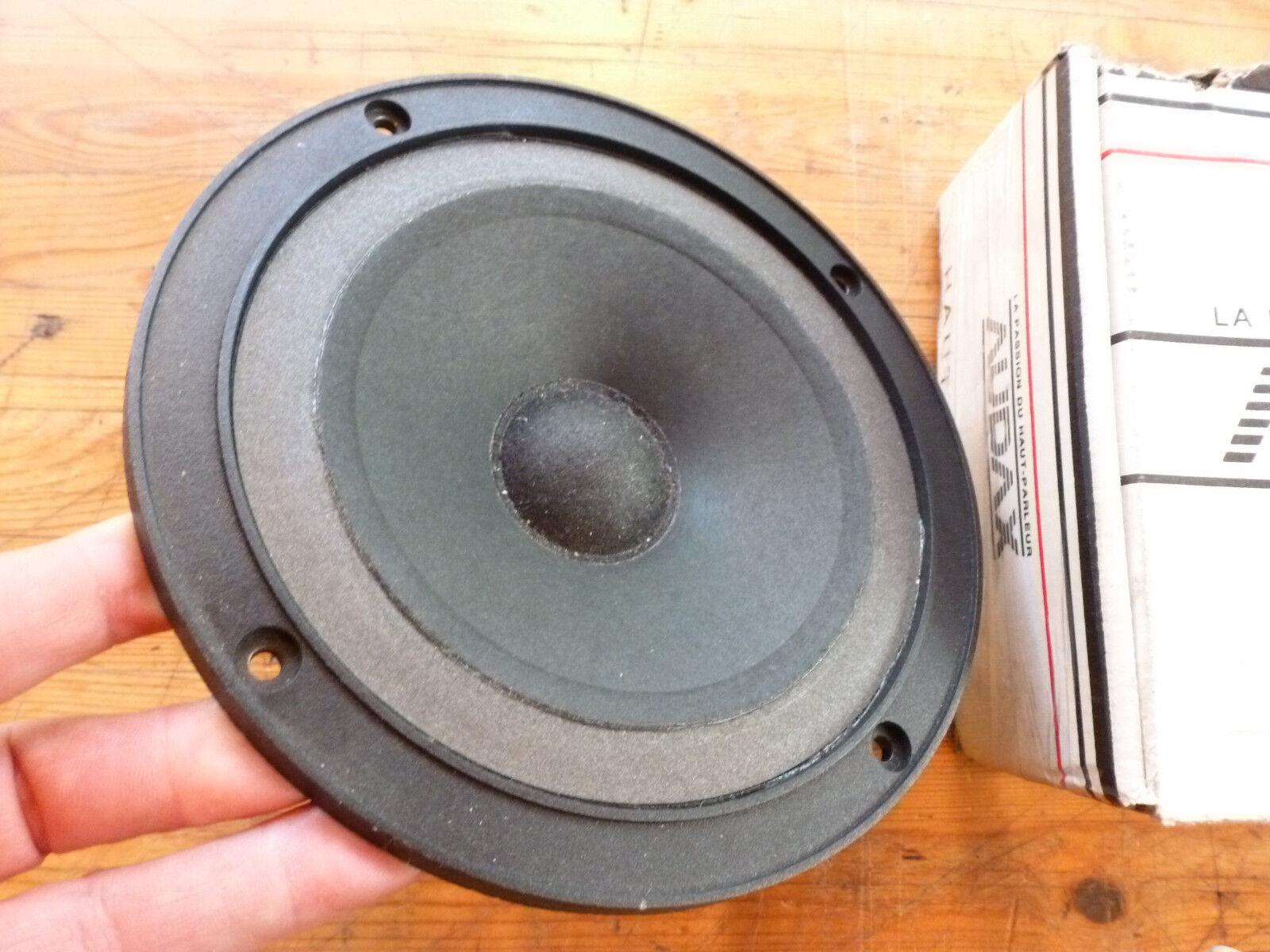 Superb & near mint ONE Midrange  AUDAX  Mid speakers  PR17 0MO Pro NEW FOAM !