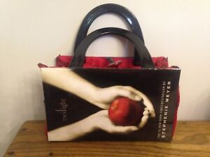 Purse made with Twilight book cover