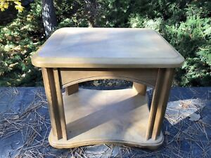 Two Solid end tables