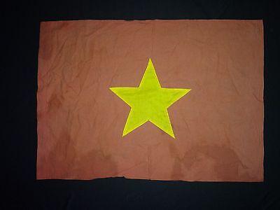 Vietnam War VC North Vietnamese Army (NVA) Cotton Flag *Vintage*