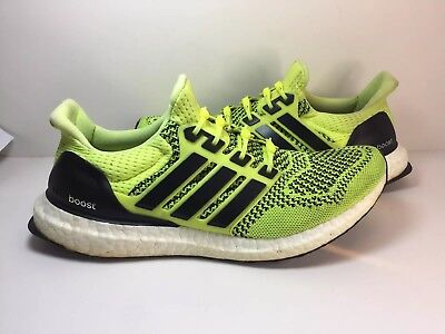 9419fb97b Adidas Ultra Boost 1.0 Volt Solar Yellow Men Size 9
