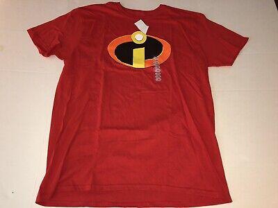 Disney The Incredibles Mr Logo Symbol Superhero CrewNeck Tee T-Shirt New Size XL - The Incredibles Superheroes