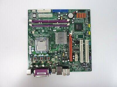 Acer M265 Series PC EG31M V.1.1 Socket LGA 775 DDR2 Motherboard w/ CPU RAM