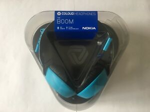 Nokia WH-530 Coloud Boom Headphones Blue with Mic & Tangle-Free Cable