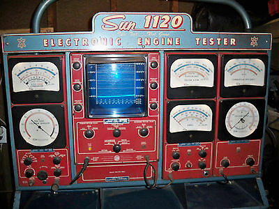 Sun Electric 720 Eet1160 Engine Analyzer Tester User Manual Pdf Book Cd New Other