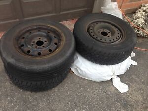 Tires and rims 215 70 15