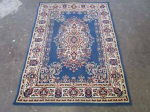 D5081 Lovely Blue Persian Floor Rug Mat Mount Barker Mount Barker Area Preview