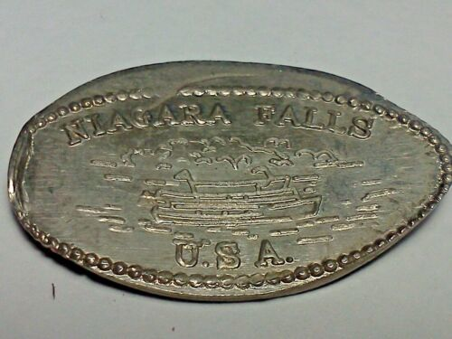 NIAGARA FALLS U.S.A.-Elongated / Pressed Nickel D-215