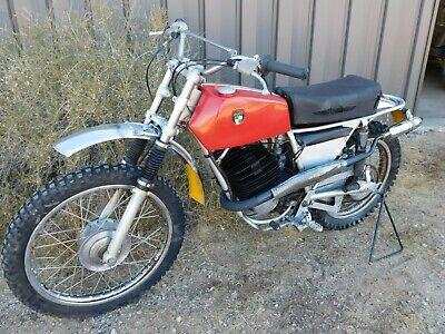 '73 Puch 175 MC175 Vintage MX MotoCross Desert Enduro Clean All Original STOCK
