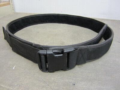 Xl Police Security Guard Modular Enforcement Equipment Duty Belt Tactical Nylon