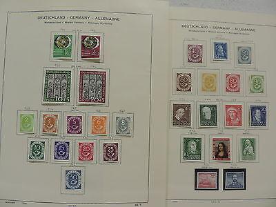 Top BRD Sammlung 1949-1971 **/* komplett mit Posthorn Mi-Nr. 123-138