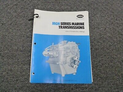 Twin Disc Mgn-1724h Transmission Assembly Dimensional Specifications Manual