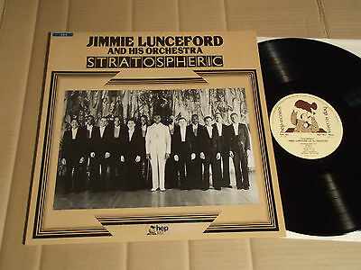 JIMMIE LUNCEFORD AND HIS ORCHESTRA - STRATOSPHERIC - LP - HEP 1011 - UK - MONO